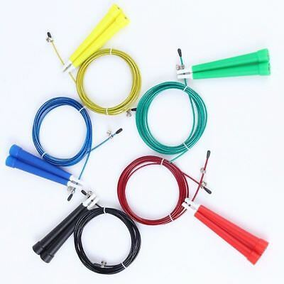 3M Steel Wire Skipping Jump Rope Adjustable Fitnesss Exercise Random Color