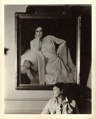 GLORIA SWANSON SUPERB Vintage 1934 ORIGINAL CLARENCE BULL MGM DBW PORTRAIT Photo