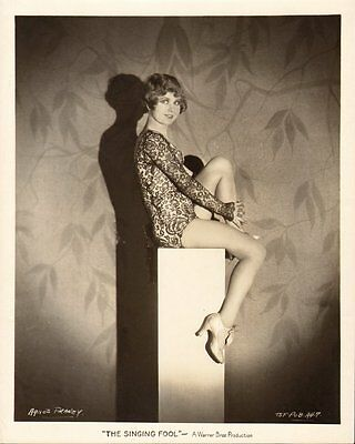 HOLLYWOOD STARLET vintage 1928 ORIGINAL LEGGY PIN-UP ART DECO AGNES FRANEY Photo