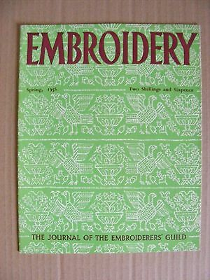 Embroidery Guild Magazines Spring 1956