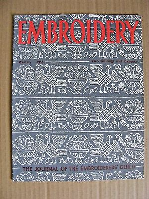 Embroidery Guild Magazines Winter 1955