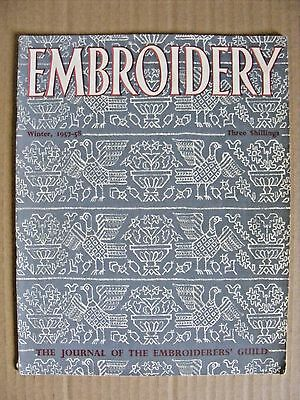 Embroidery Guild Magazines Winter 1957-58