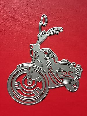 NEW• MOTORBIKE DIE Motorcycle Bike To Use With Sizzix or Cuttlebug