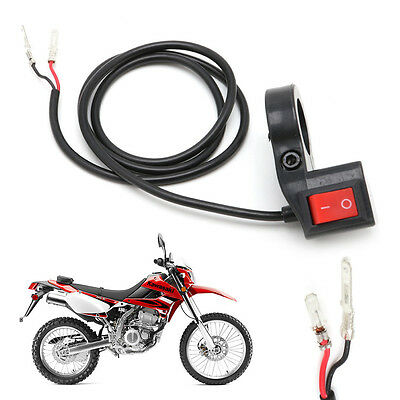 7/8'' Motorcycle Bike Scooter Handlebar ON-OFF Head Fog Spot Light Switch