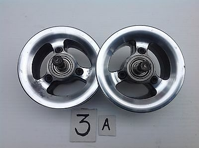 Pride Fusion Front(Pair) Castor Alloy Wheels For Electric Powerchair