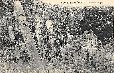 Cpa Nouvelle Caledonie Tabous Canaque
