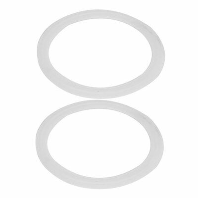 102mm Silicone Gasket 2pcs for 4-inch Tri Clamp Sanitary Pipe Ferrules