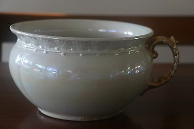 Antique Lustreware / Pearlware Chamber Pot