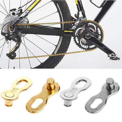 2Pcs Bike Bicycle Master Chain Link Joint Connector 11 Speed Quick Clip Portable