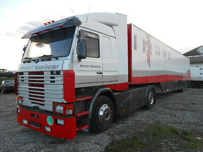 Scania Renntransporter