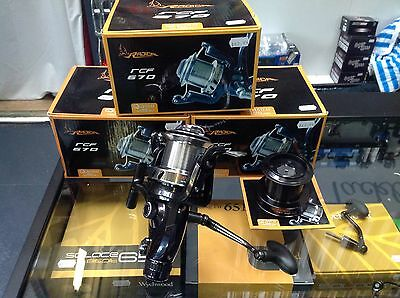 3 X Browning Quantum Radical RCF-670 BIG PIT, LONG CAST reels