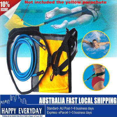 New Swimming Trainer Resistance Hydrotherapy Pool Swim Trainer Belt Aid Harness