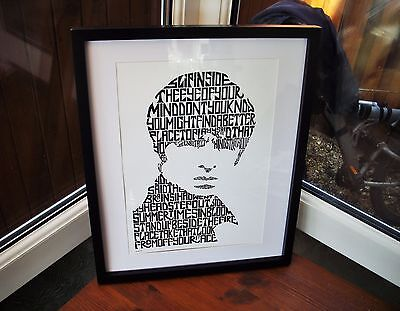 Oasis/Noel Gallagher/Don't Look Back In Anger A3 size art print/poster