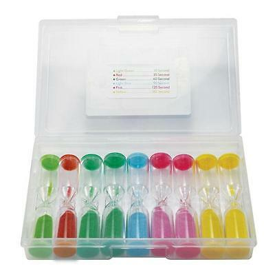 Sand Timers Set of 9 Maths Games Teacher Resource Primary Kids Classroom Time