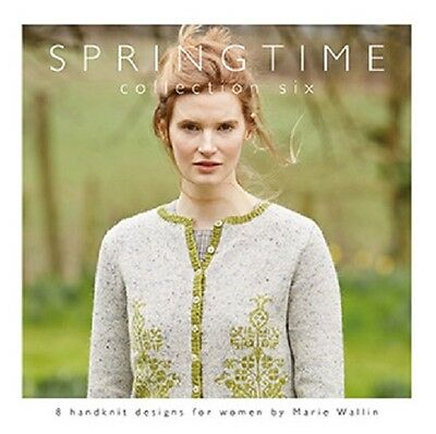 SPRINGTIME - COLLECTION 6 by Marie Wallin  knitting pattern book for Rowan