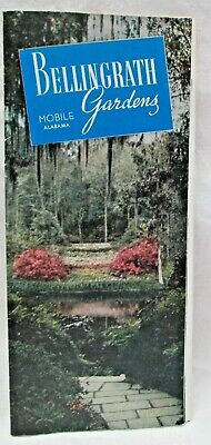 Vintage Bellingrath Gardens Mobile Alabama Brochure Mobile's Azalea Trail