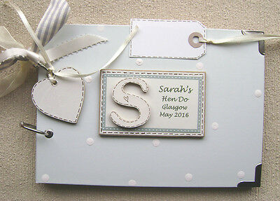 Personalised Hen Party .a5. Size... Photo Album/scrapbook/memory Book.