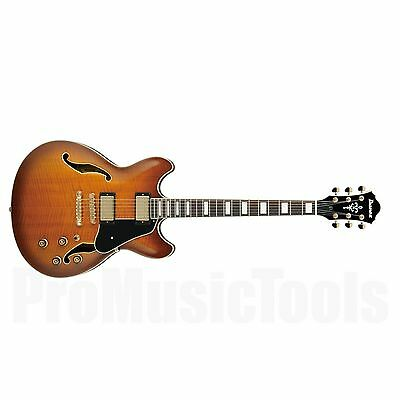 Ibanez AS93 VLS Artcore Expressionist - Violin Sunburst - demo * NEW * as-93