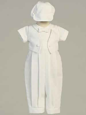 BENJAMIN Baby Boys White Cotton Christening Outfit 0-3m 3-6m 6-12m 12-18m