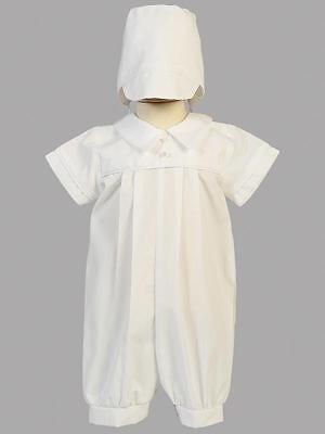 DYLAN Baby Boys White Cotton Christening Outfit 0-3m 3-6m 6-12m 12-18m 18-24m