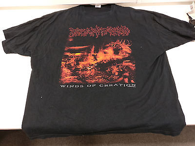 Decapitated - Winds of Creation - Tshirt - 3XL - Black