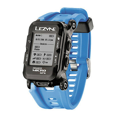 Lezyne Micro GPS Watch Blue