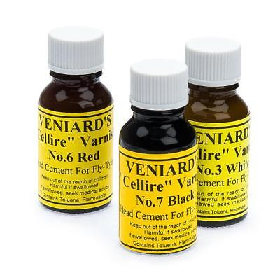 Veniards Black Cellire Varnish - for Fly Tying Varnish
