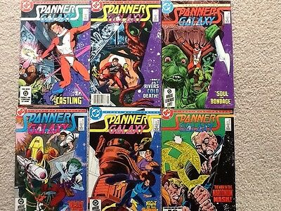 Spanners Galaxy #1 to 6 complete DC Sci-fi 1984/85 F/VF Tom Mandrake