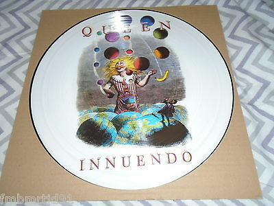 Queen Innuendo LP Picture Disc (Freddie Mercury Brian May Roger Taylor)