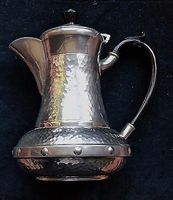 Sheffield Pewter Jug approx 8.5 inches high