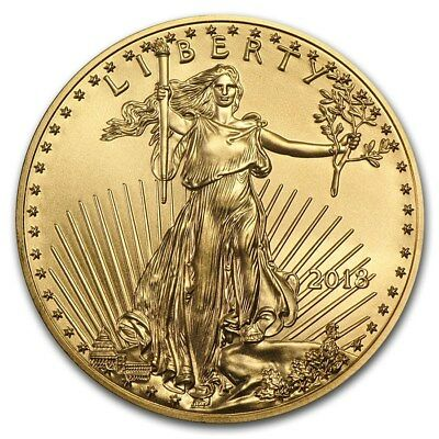 2017 1/10 Once Or American Eagle Usa 1/10 Oz Gold Coin $5 Us Aigle Etats-Unis