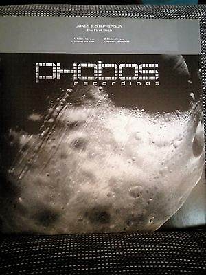 "Jones & Stephenson ‎– The First Rebirth  12""  Vinyl Schallplatte *RARE*"