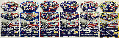 2017 NESA Boy Scout Jamboree Set of 18 on felt numbered Limited Edition of 300