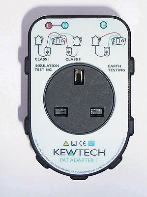 Kewtech Patadapter1 Portable Appliance Adaptor Box For Multifunction Tester