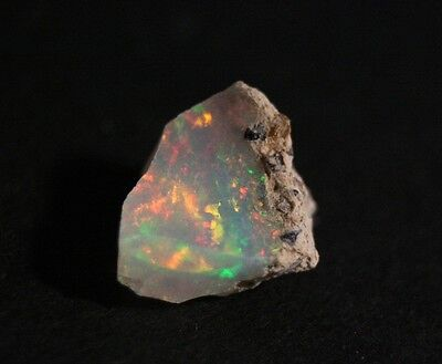 4.43ct Welo Crystal Opal Rough - Confetti Opal - AAA Opal -See Video