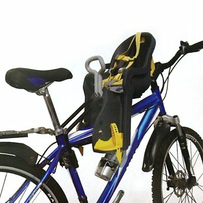 Safety Child Baby Kids Bike Bicycle Cycle Front Seat Carrier Max 22KG & Handrail