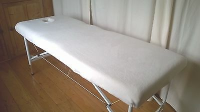 Fleece Massage Couch Table Treatment Cover With Face Hole