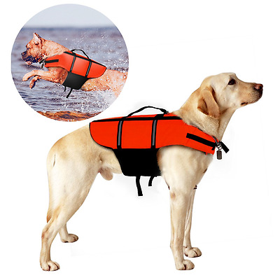 Life Jackets for Dogs, Poppypet Outward Hound Life Jacket, Dog Floatation Vest,P