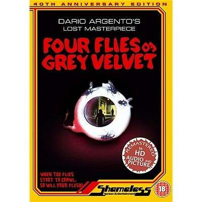 Four Flies On Grey Velvet - Michael Brandon, Mimsy Farmer - New DVD