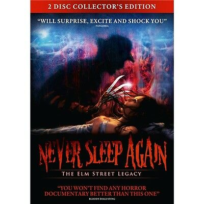 Never Sleep Again : The Elm Street Legacy (2 Discs) - Wes Craven - New DVD