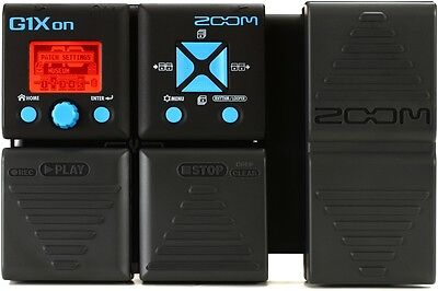 Zoom G1Xon Multi-effects Pedal with Expression Ped