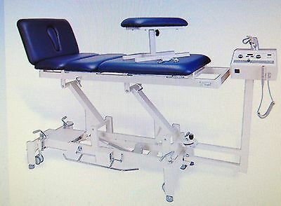 TRACWERX spinal decompression table, spinal axial distraction, traction
