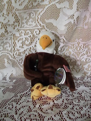 Coca Cola brand Bean Bag International Animal- 1998 Reegle the Eagle - U, S,