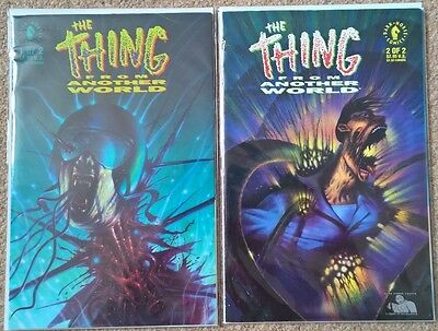 Dark Horse Thing From Another World 1 ,2 1st Series complete set 1992