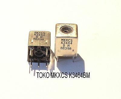 TOKO MKXCS-K3464BM   25 ~ 30MHZ RF/ANTENNA COIL 10X10mm 2 PIECE OFFER