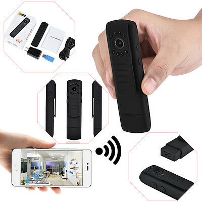 Mini HD L7 WIFI Meeting Record Pen Infrared Night Vision Camera Camcorders DV