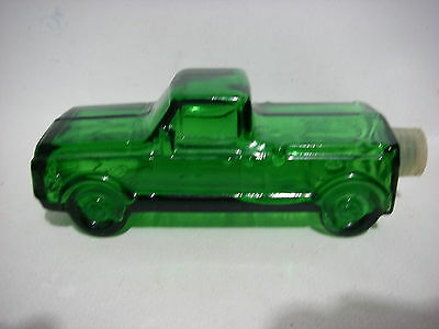 Vintage Retro Collectable Scent Avon Cologne Bottle Green Pickup Truck (empty)