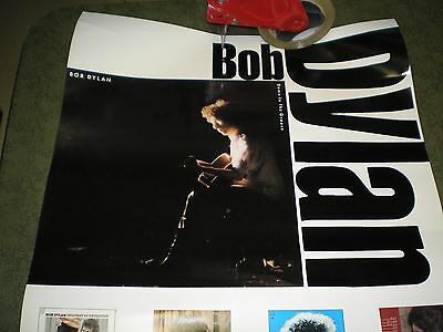 """Bob Dylan Down The Groove Promo 19"""" x 30"""" Poster Vg"""