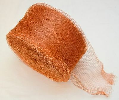 Copper Mesh For Exclusion Of Pests >>> Mice ,rats, Birds, Bats,small Animals !!!