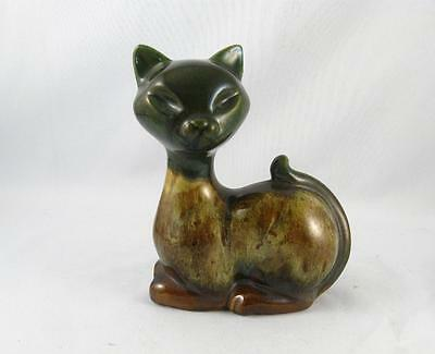 Elwill Canada 778 Art Pottery Cat Figurine Vintage